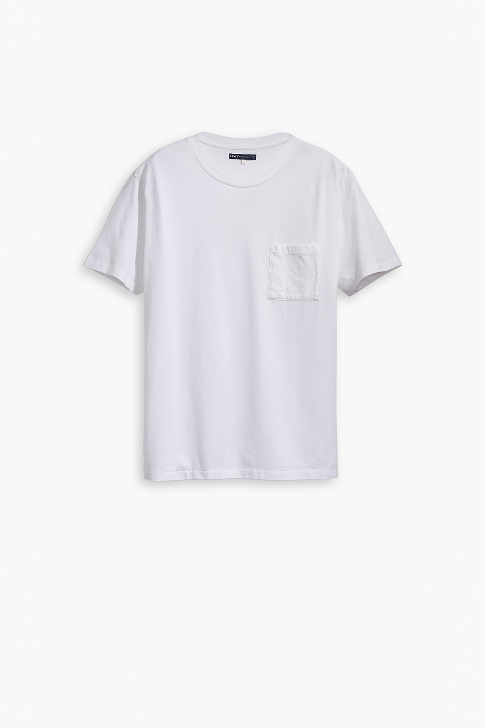 Levi's Made and Crafted Pocket Tee Bright White