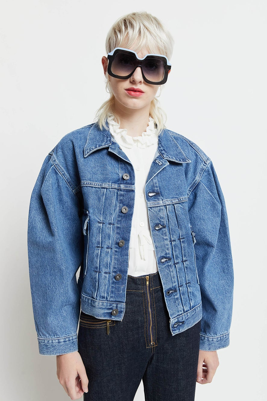 Levi's Made and Crafted Sunray Trucker Sunshine
