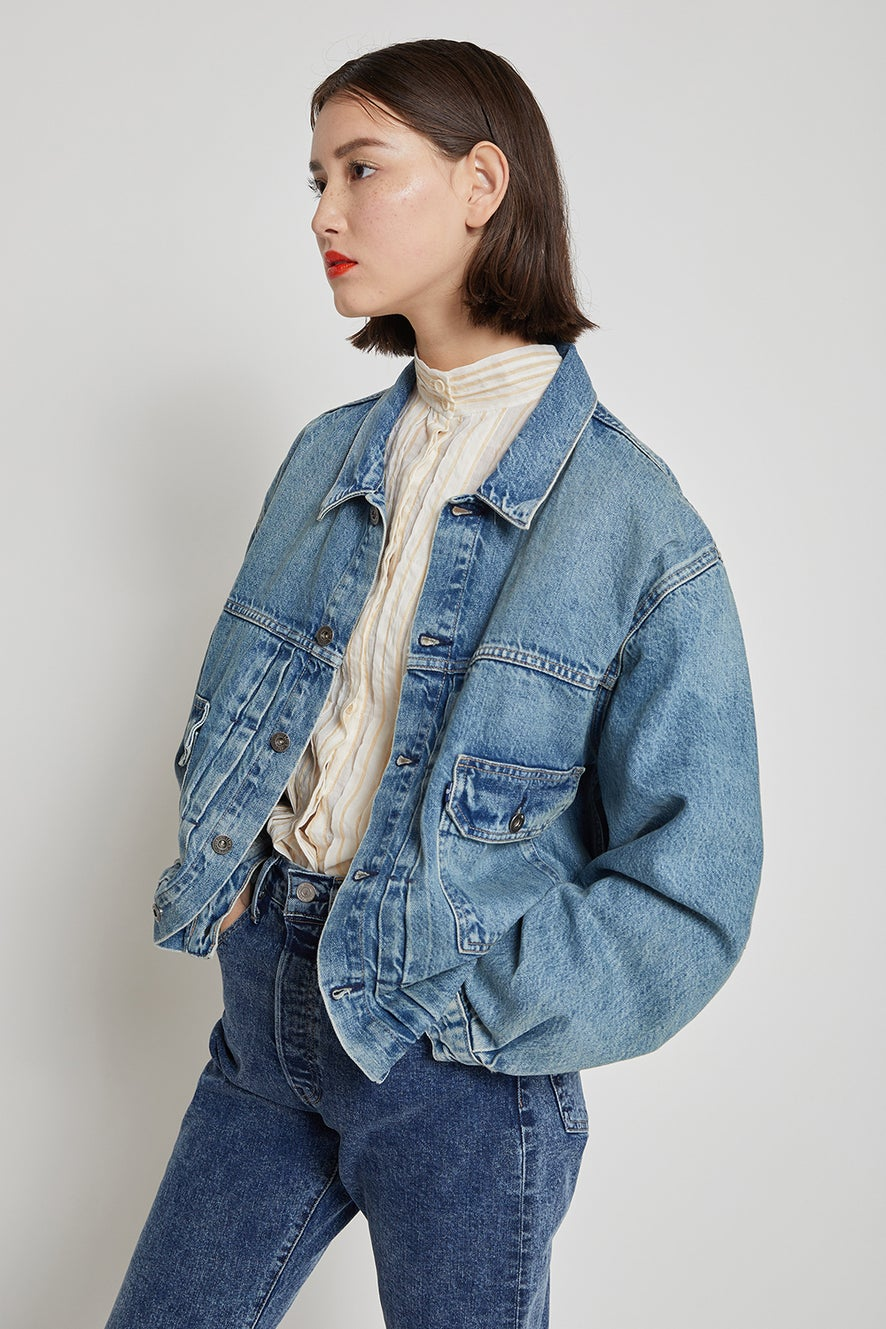Levi's Made and Crafted Type II Trucker Below Zero