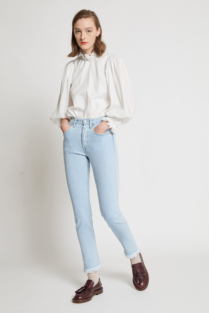 Levi's Made and Crafted 501® Skinny Jeans Frida Fringe