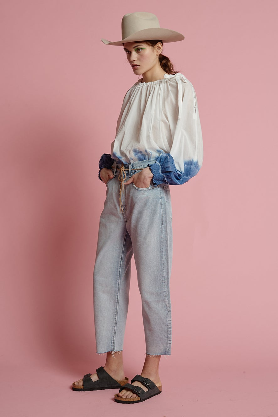Levi's Made and Crafted Barrel Jeans Crisp Sky