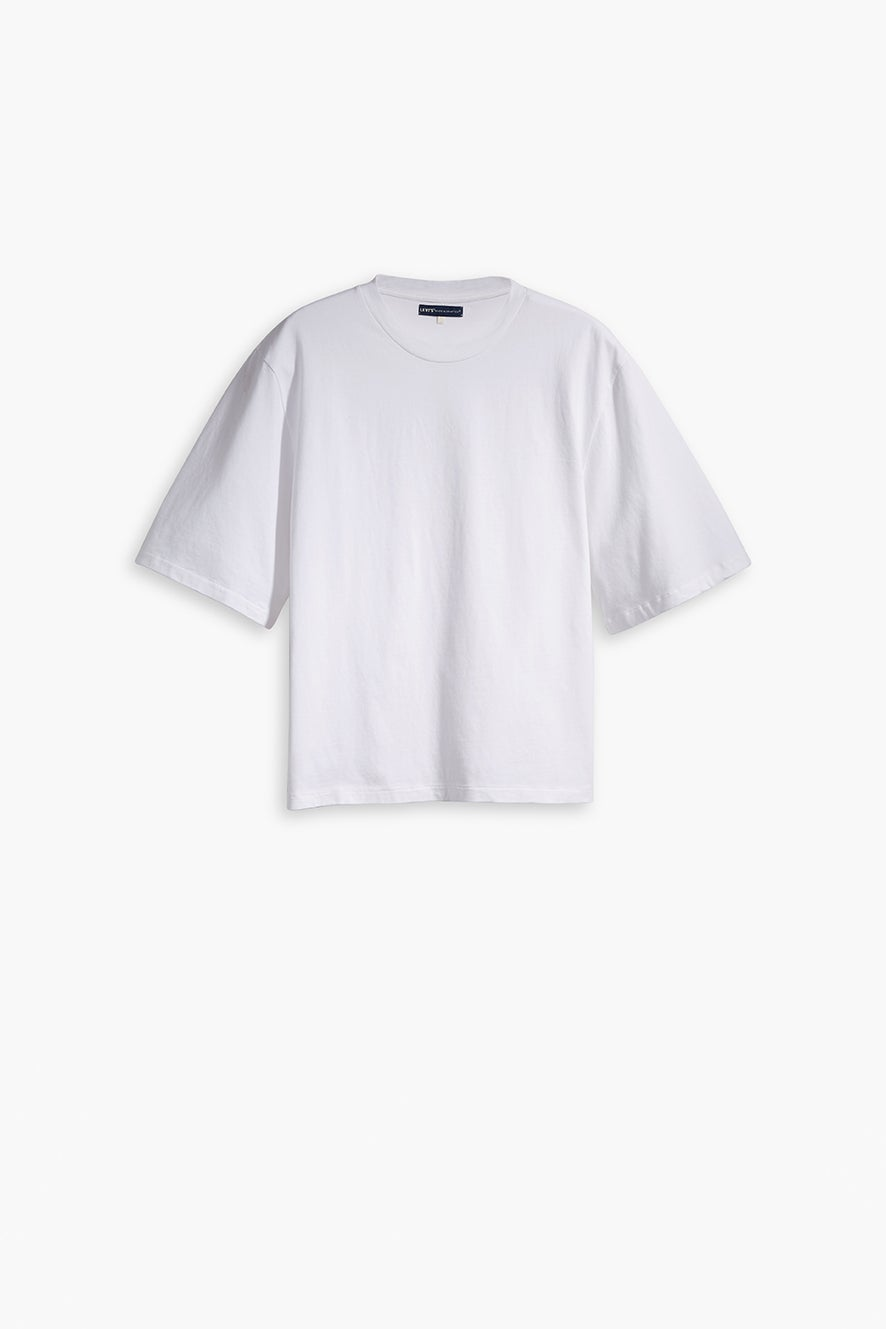 Levi's Made and Crafted Oversized Sleeve Tee Bright White