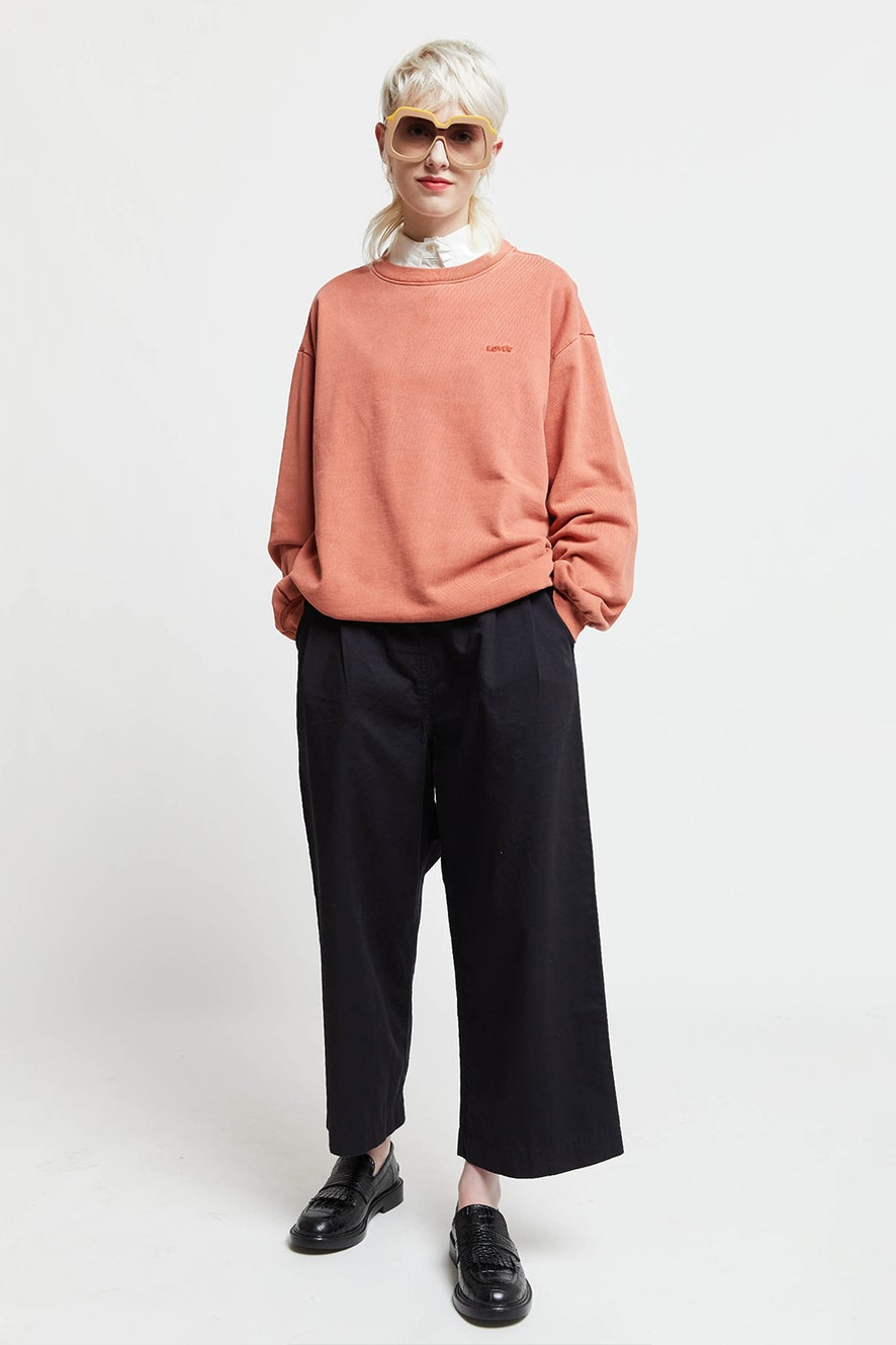 Levi's Melrose Slouchy Sweatshirt Aragon