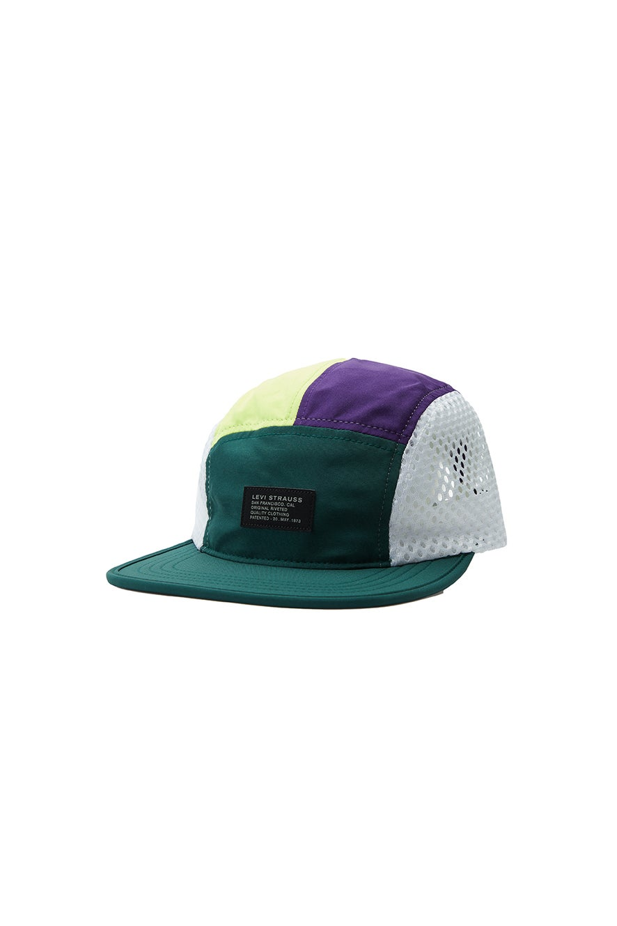Levi's Packable Cap No Horse Pull Patch Green