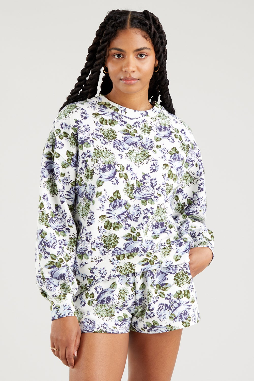 Levi's Pai Sweatshirt Lynn Floral Plein Air