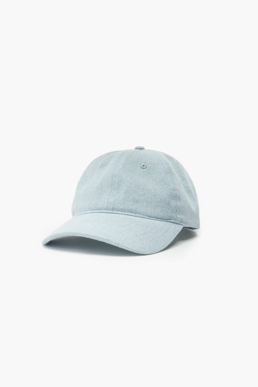 Levi's Recycled Denim Baseball Cap Light Blue