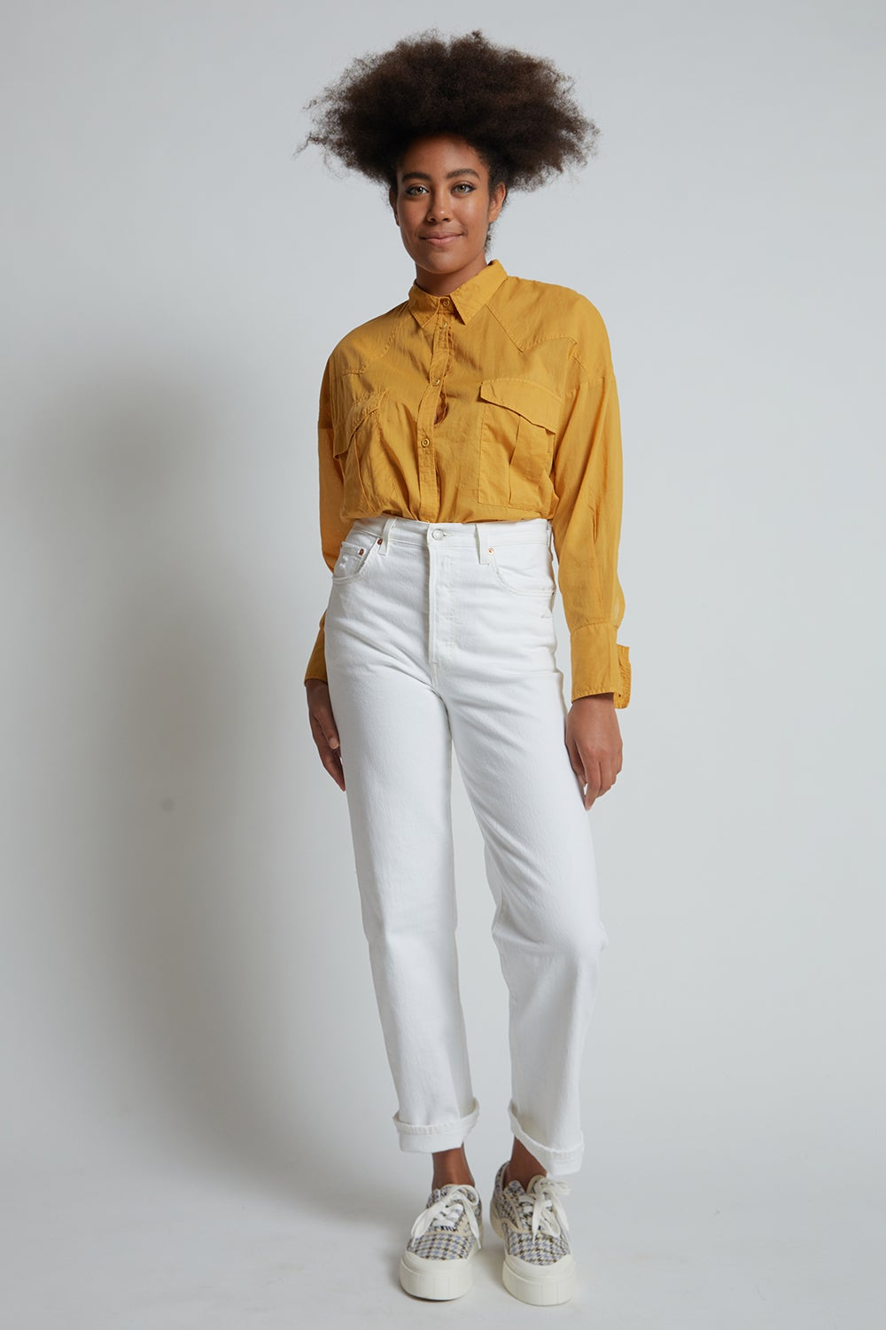 Levi's Ribcage Straight Ankle Jeans Cloud Over