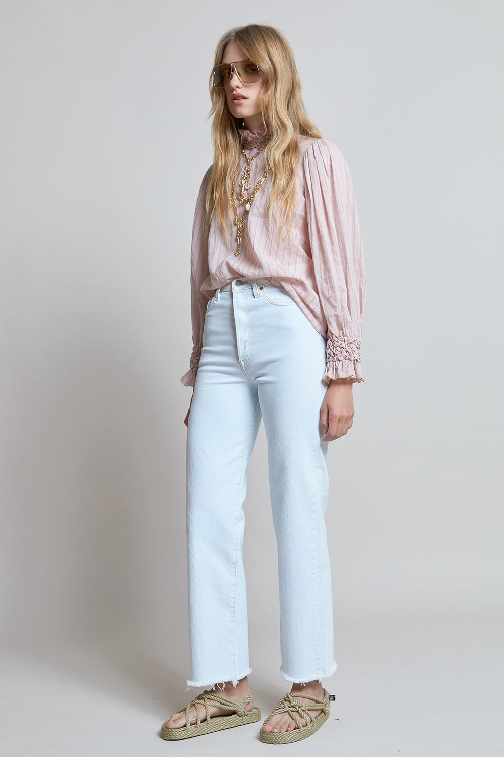Levi's Ribcage Straight Ankle Jeans Faint Hearted