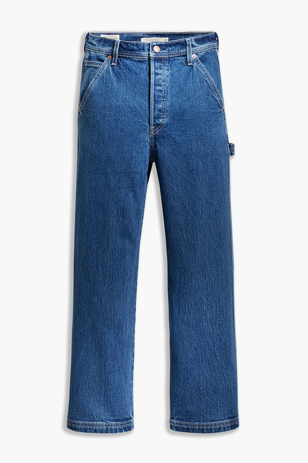Levi's Ribcage Straight Ankle Jeans Utility Nine To Five
