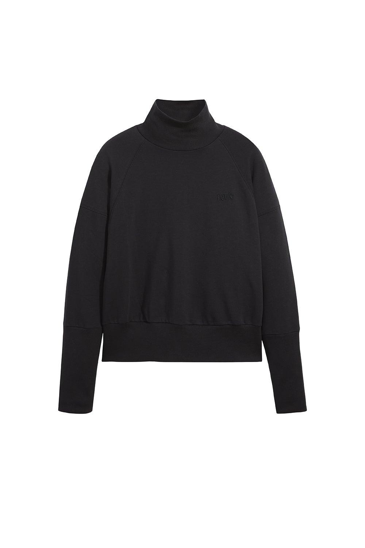 Levi's Sienna Mockneck Sweatshirt Caviar