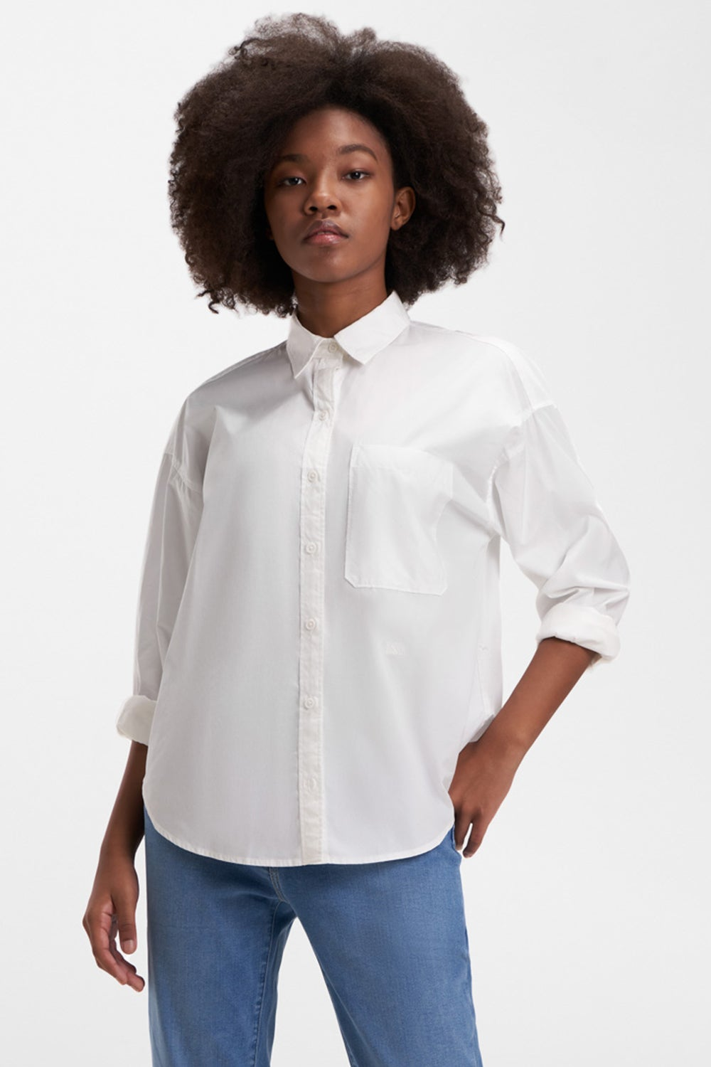 Levi's The Relaxed Shirt Bright White