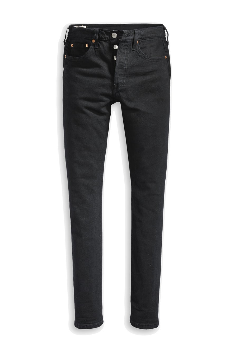 Levi's Wedgie Straight Jeans Black Sprout