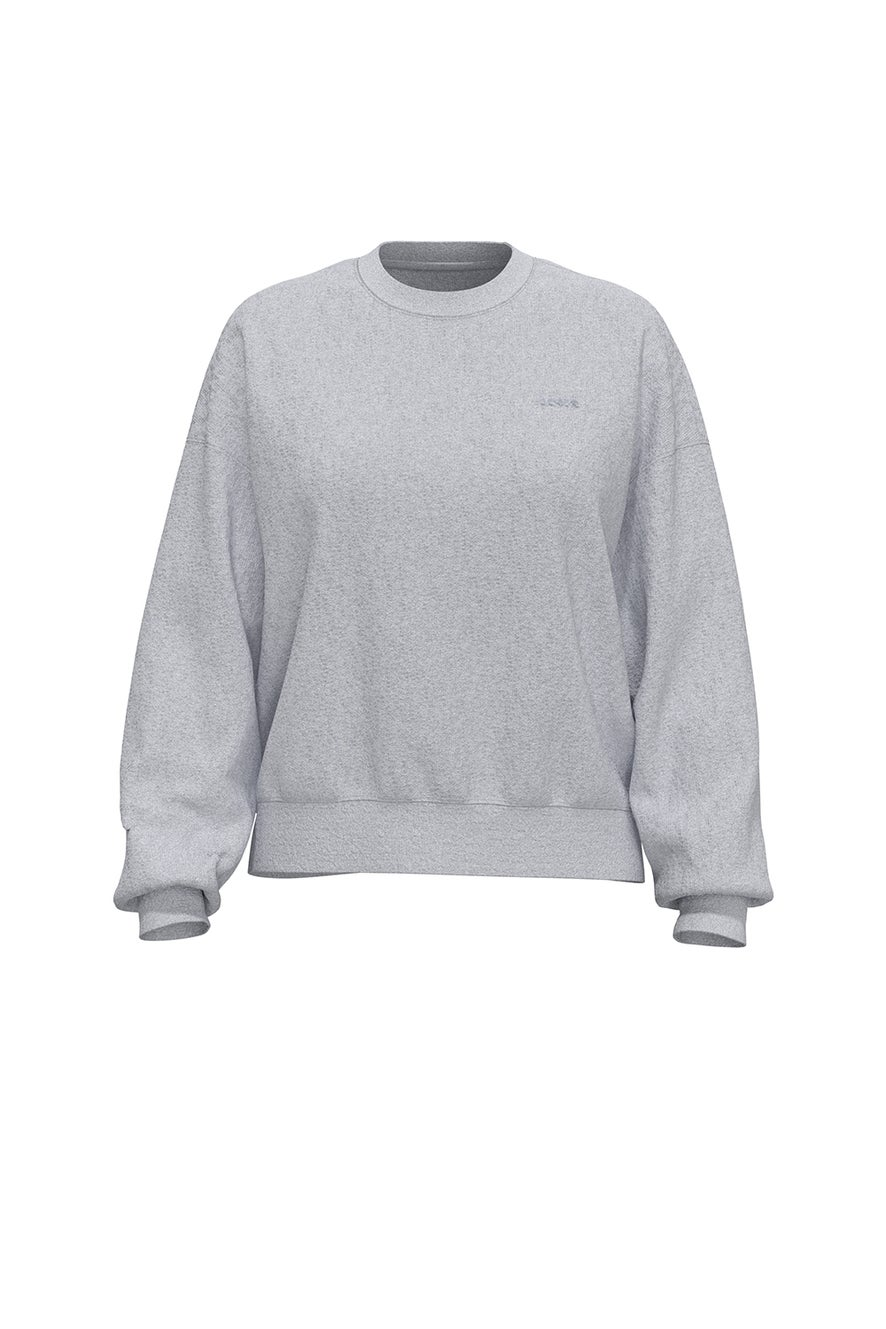 Levi's Work From Home Sweatshirt Orbit Heather Gray