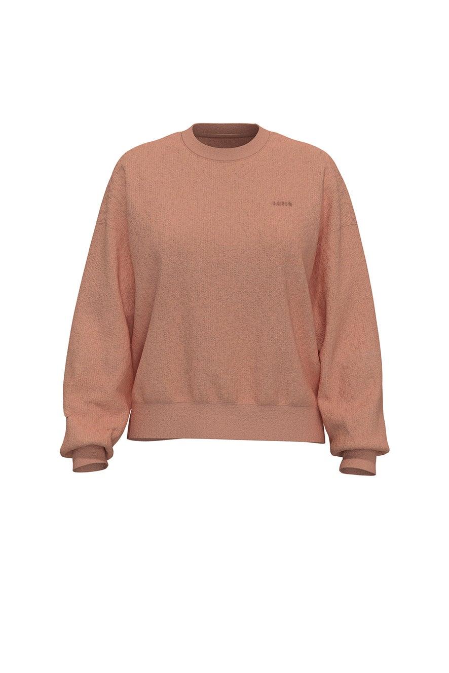Levi's Work From Home Sweatshirt Peach Bloom