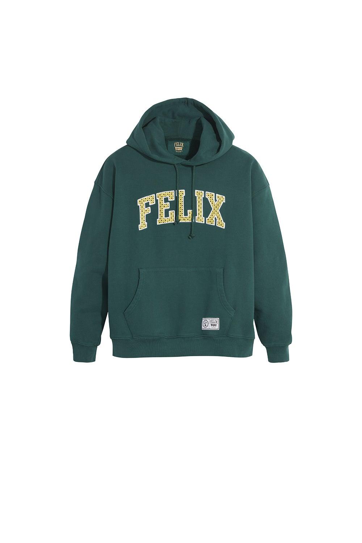 Levi's x Felix Graphic Hoodie Felix Magic Bag Forest Biome