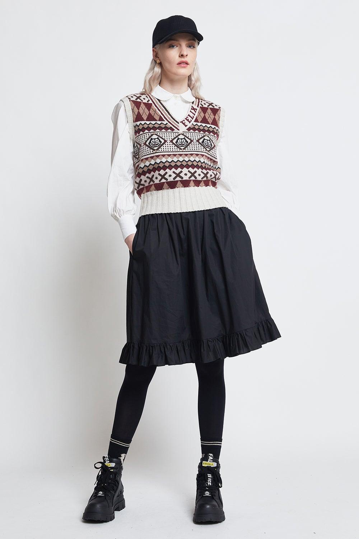 Levi's x Felix Sweater Vest Fair Fleix Pumice Stone