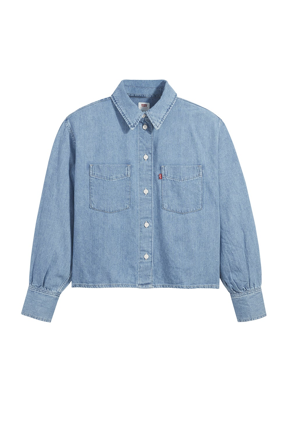 Levi's Zoey Pleat Utility Shirt Stay Cool