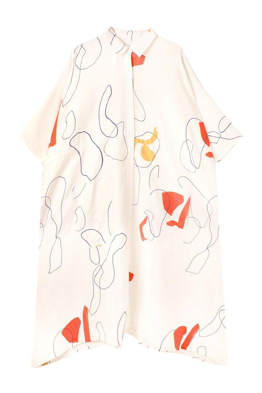 L.F Markey Harris Dress Willow Print