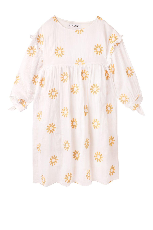 L.F Markey Kingston Dress Sun Embroidery