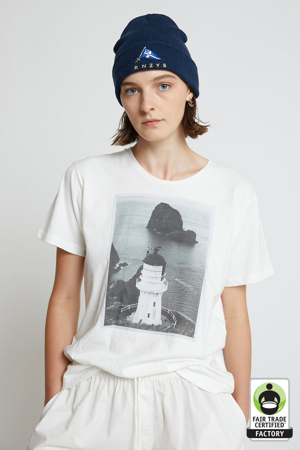 Organic Cotton Lighthouse T-Shirt