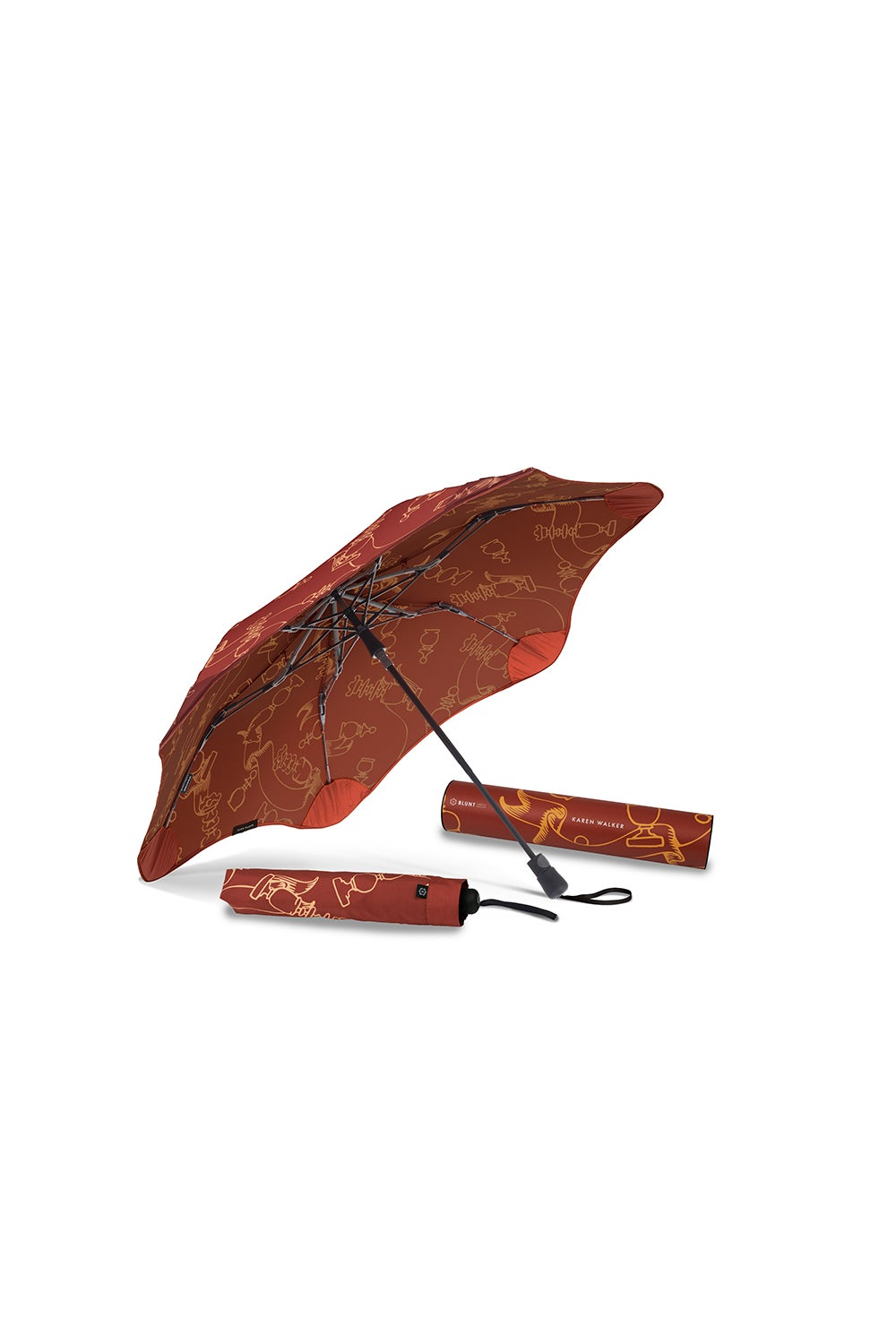 Limited Edition Karen Walker for Blunt XS Metro Grandmaster Umbrella