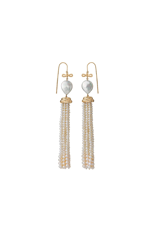 Long Love Earrings Gold-Plated
