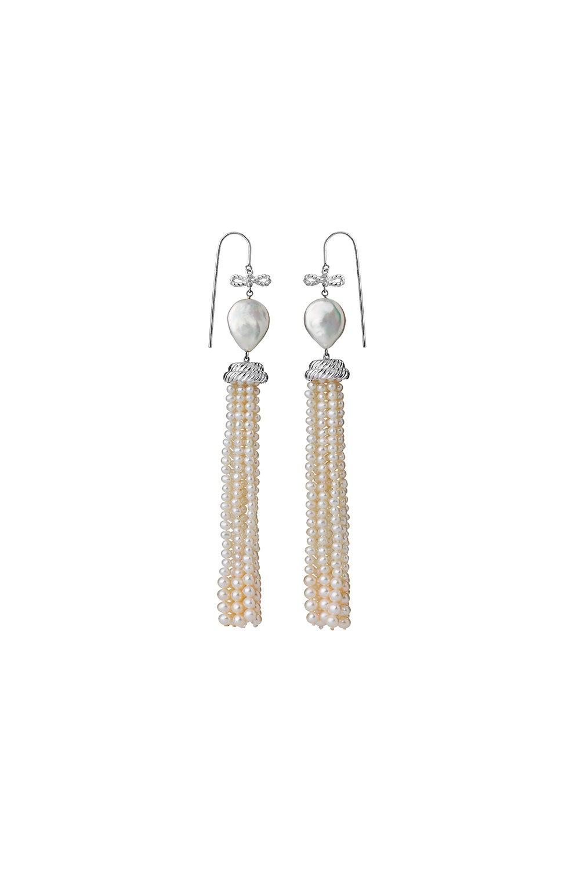 Long Love Earrings Sterling Silver