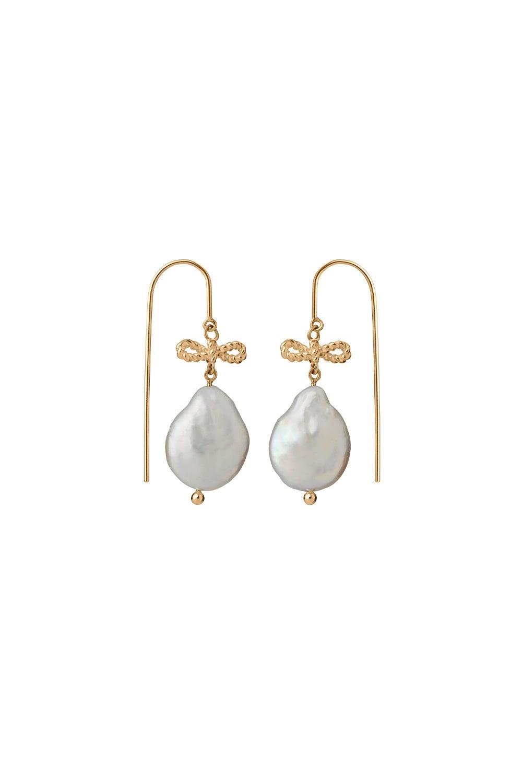 Love Drop Earrings Gold-Plated