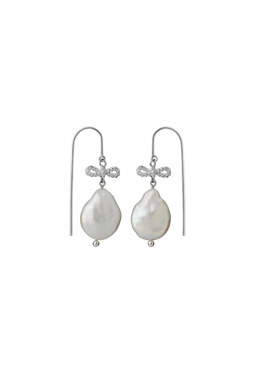 Love Drop Earrings Sterling Silver