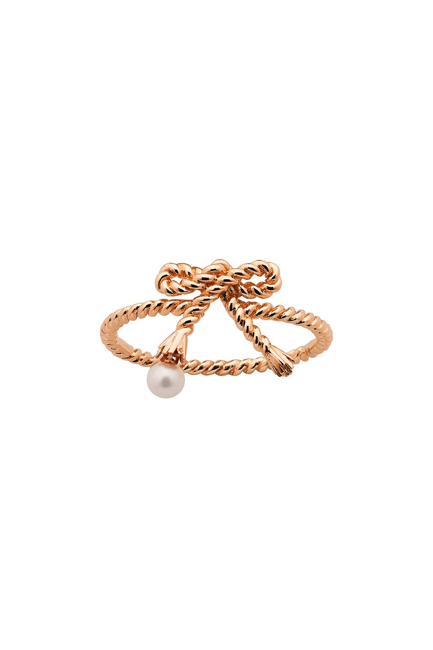 Love Knot Ring Rose Gold
