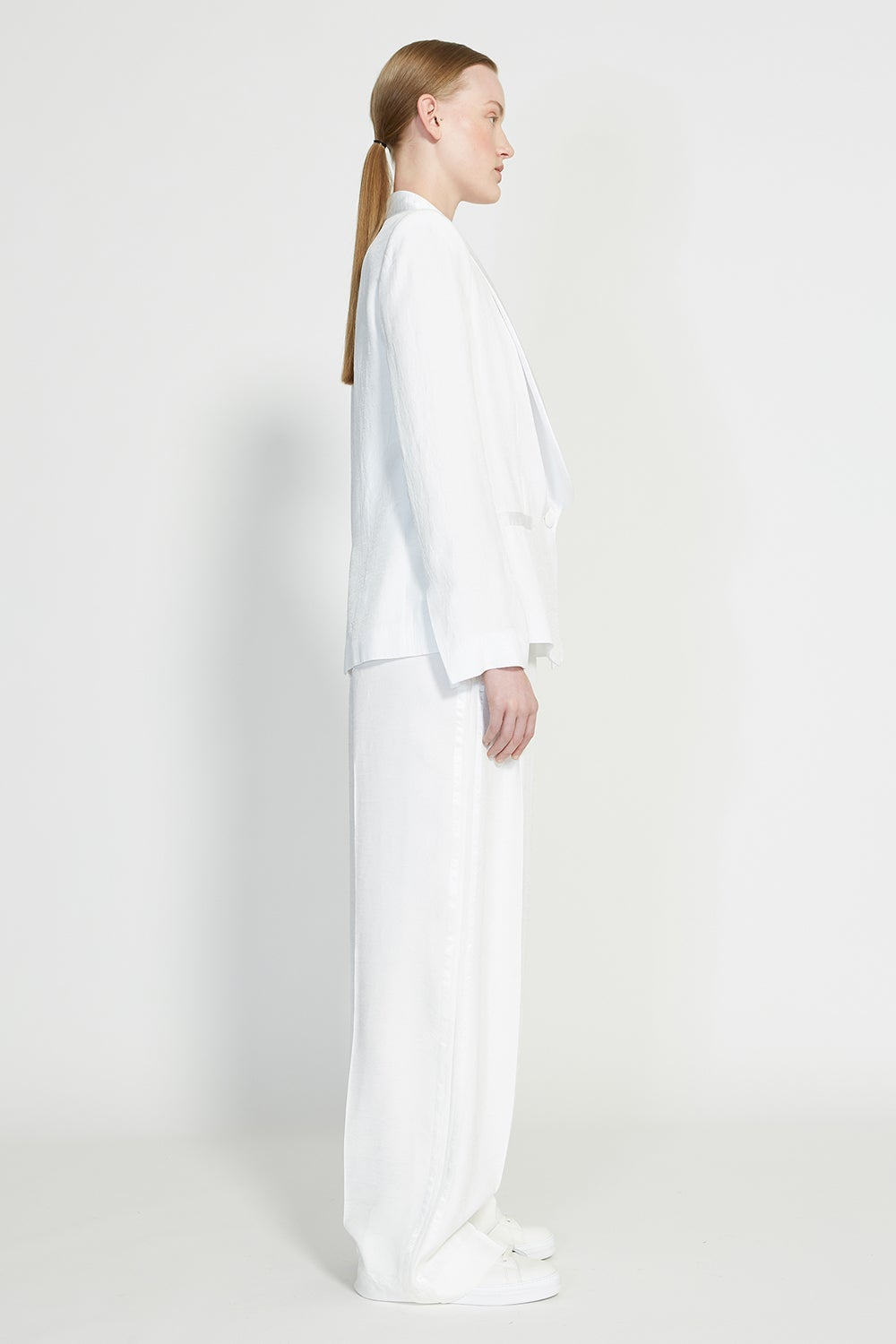 Love Tuxedo with Love Camisole and Honesty Wide Leg Trousers