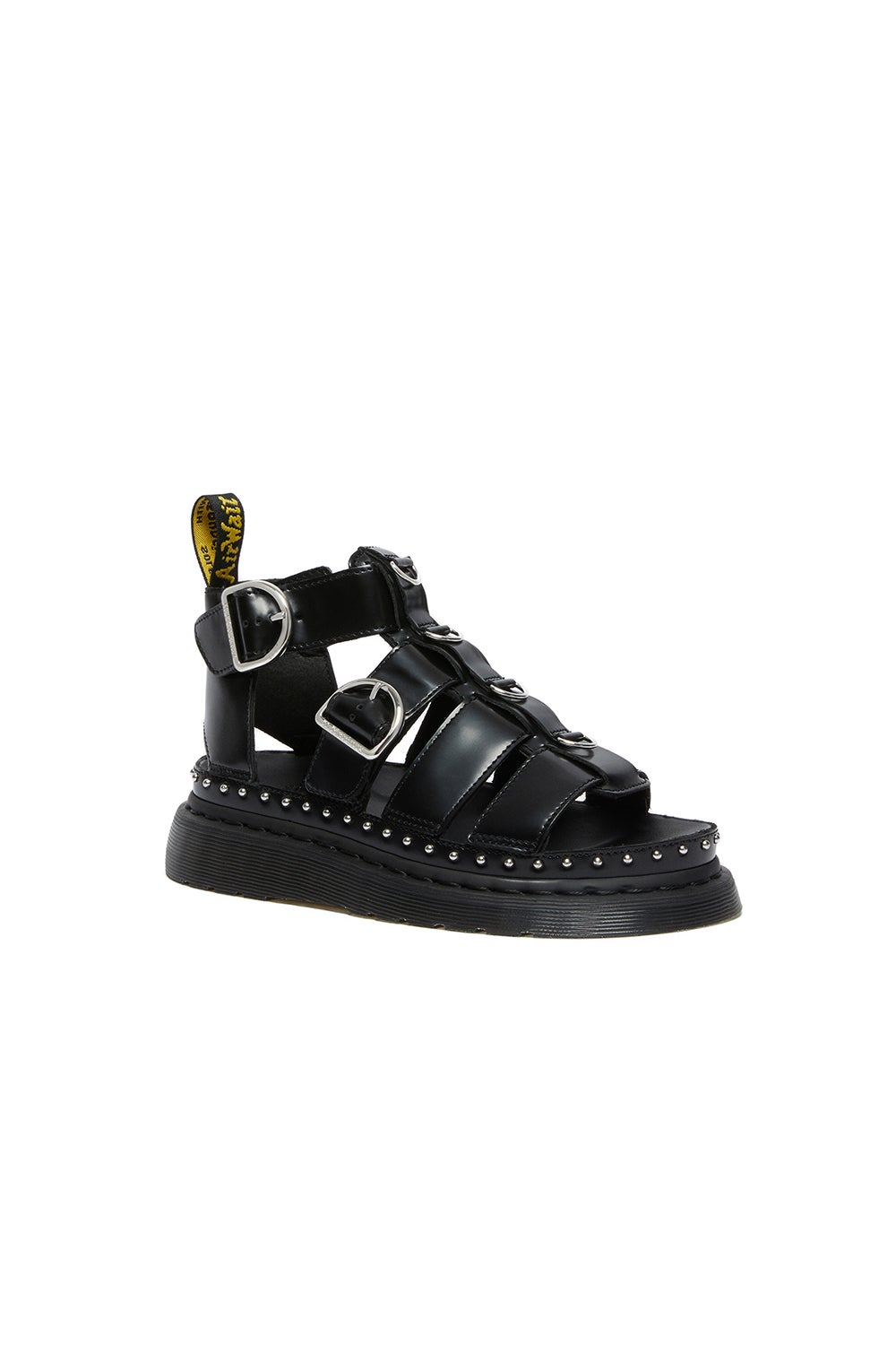 Dr. Martens Mackaye Hardware Sandals Black