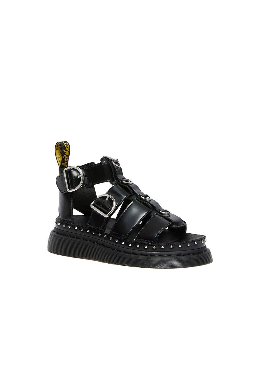 Dr. Martens Mackaye Hardware Sandals Black