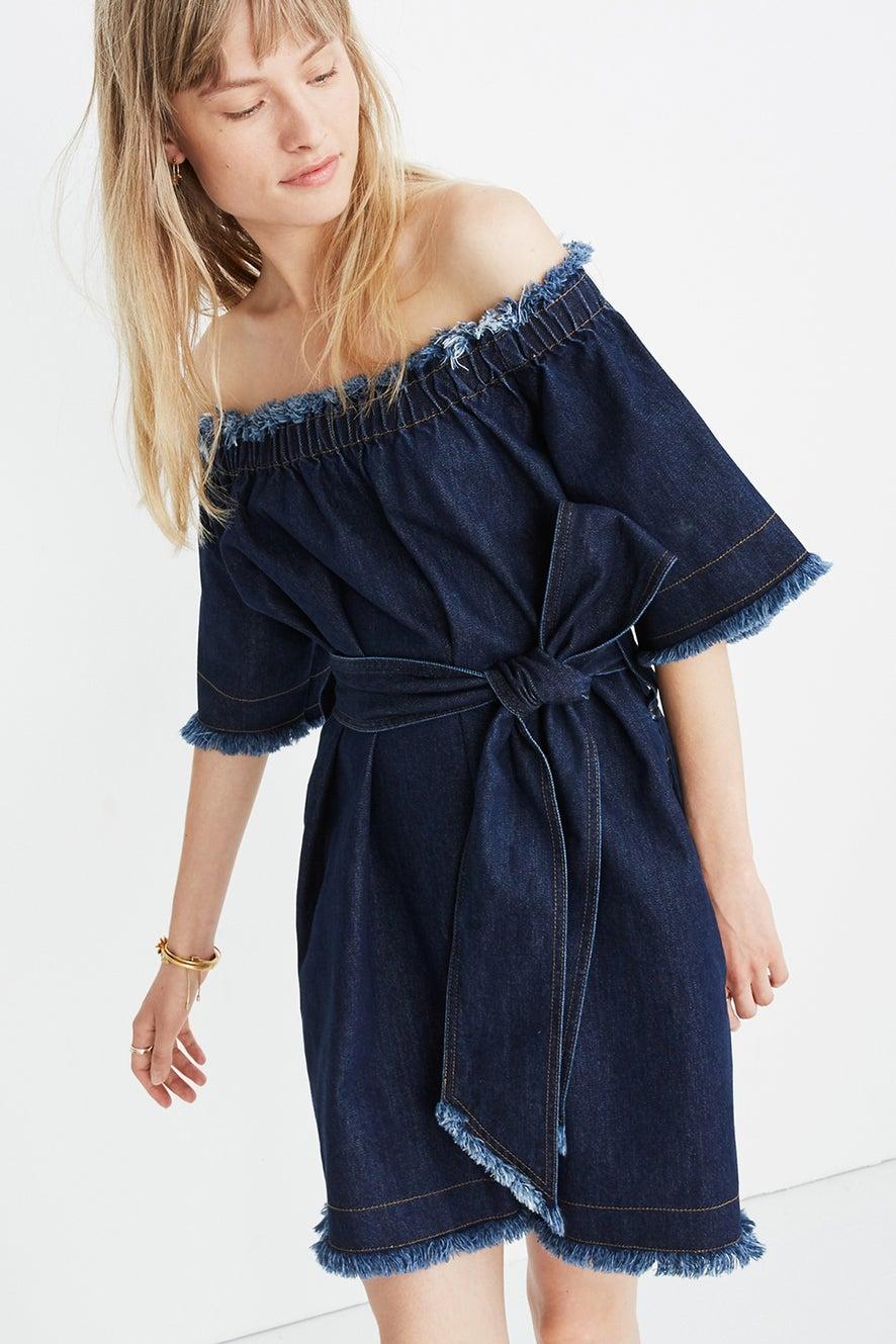 Madewell x Karen Walker Fathom Dress