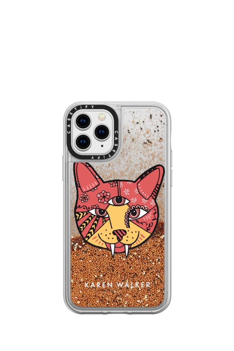 Magic Cat iPhone Case Pink