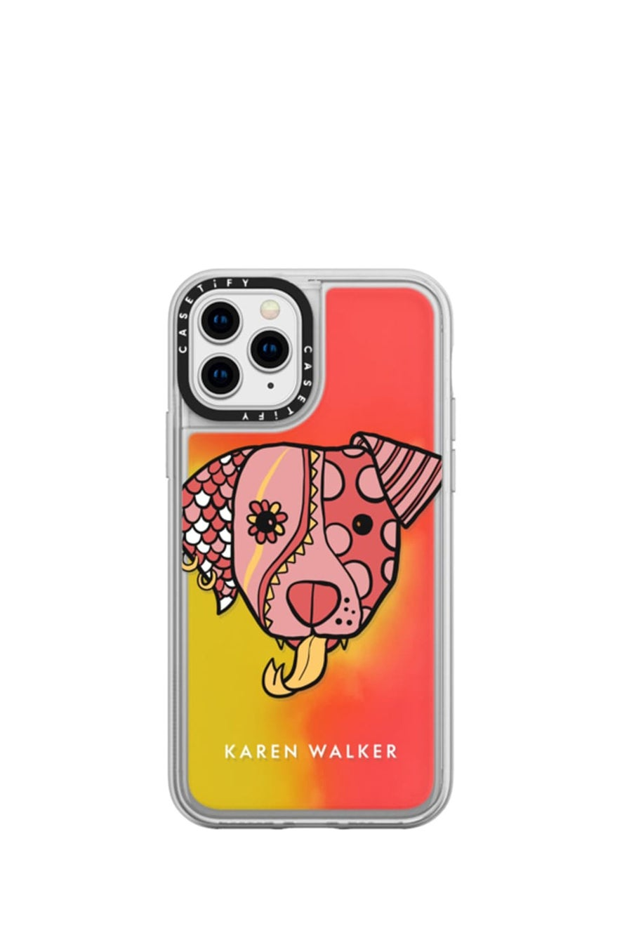 Magic Dog iPhone Case Pink
