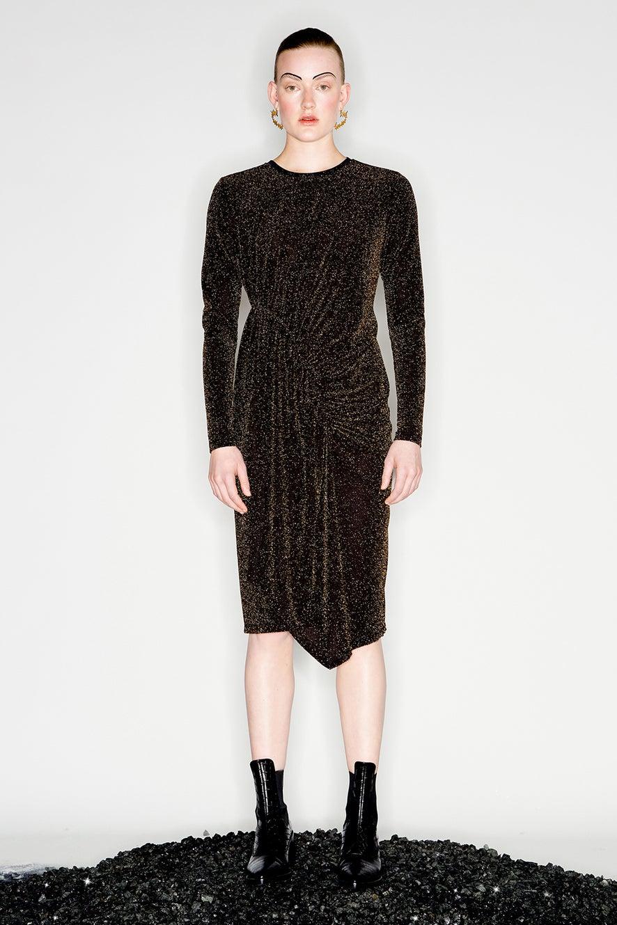 Magmatic Midi Dress