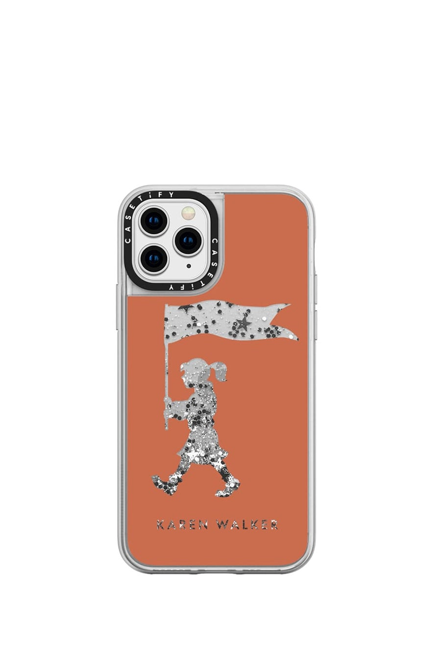 Marching Girl iPhone Case Terracotta