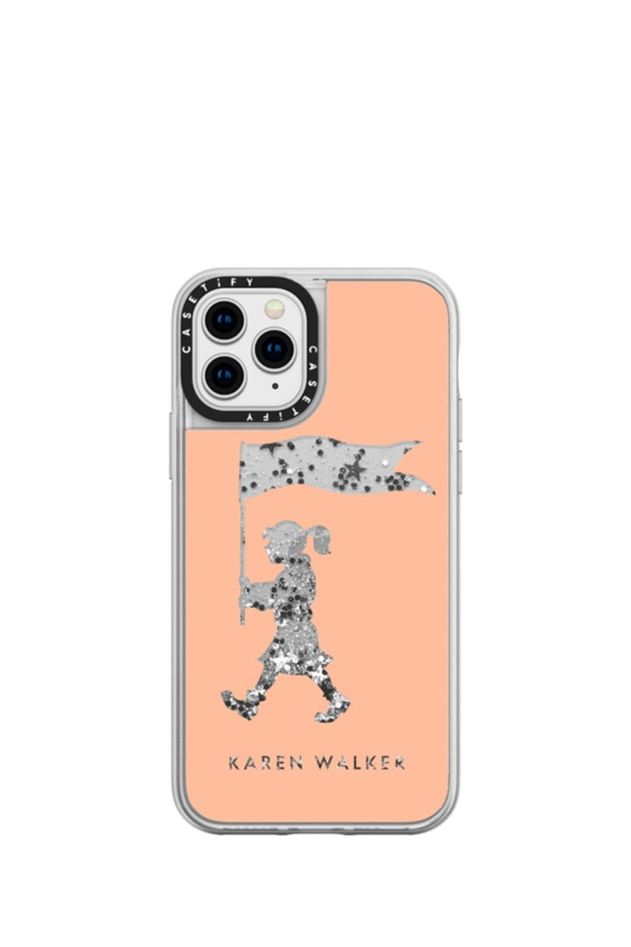 Marching Girl iPhone Case Peach