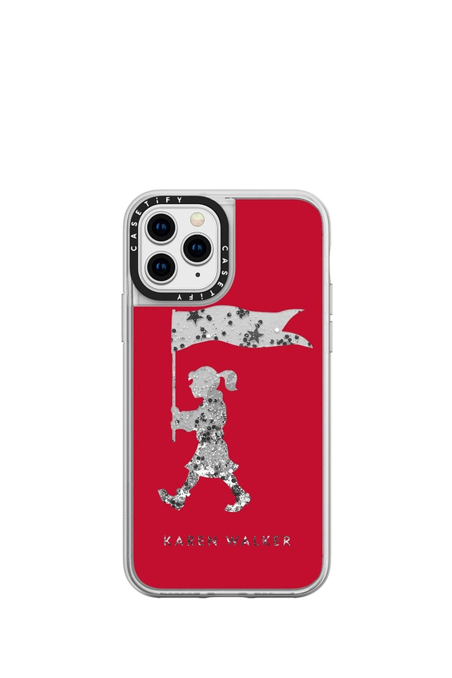 Marching Girl iPhone Case Red