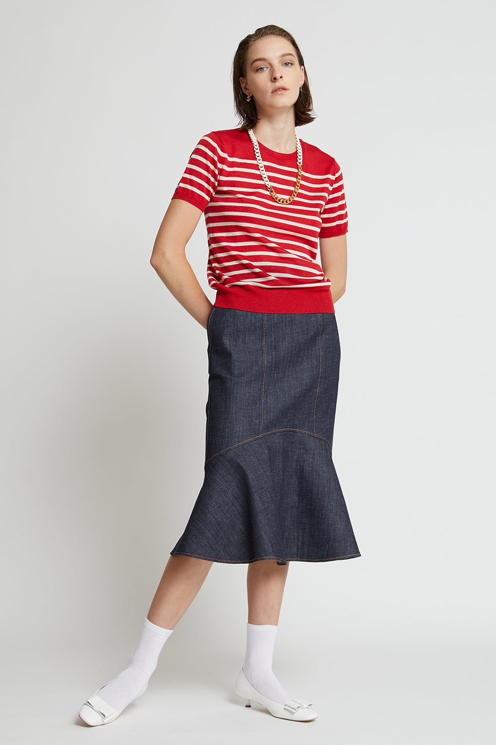 Maritime Knit Tee