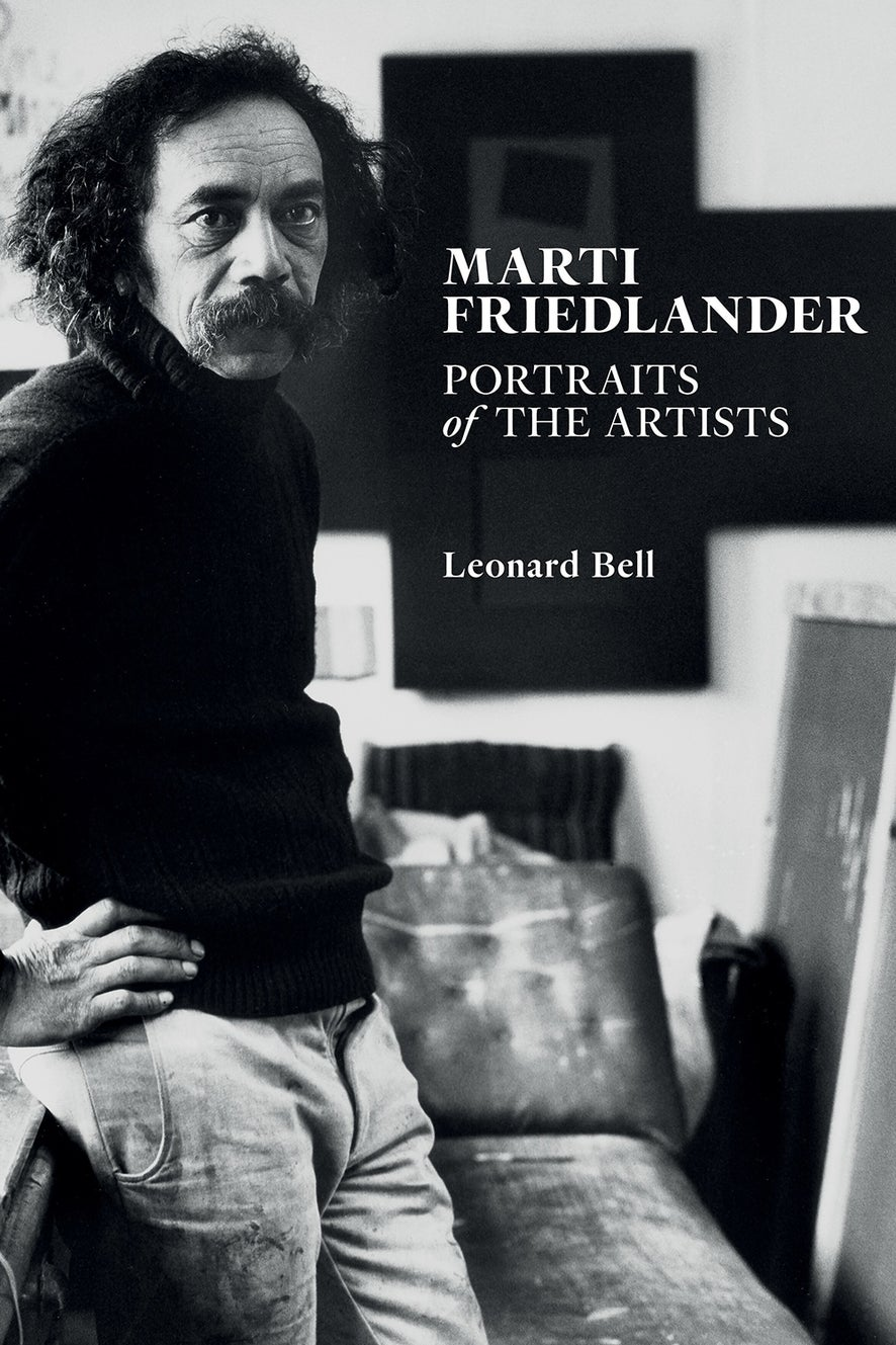 Marti Friedlander:Portraits of the Artists
