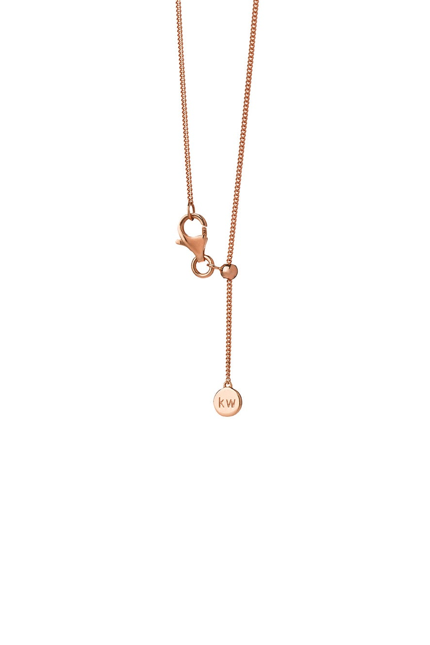 Mini Butterfly Necklace Gold