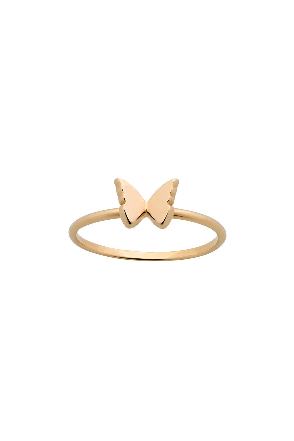 Mini Butterfly Ring Gold