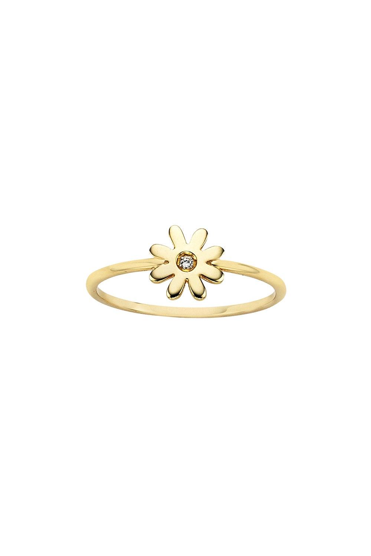 Mini Daisy Ring Gold