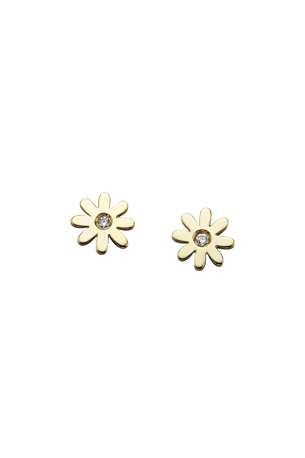Mini Daisy Studs Gold
