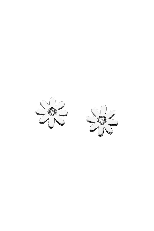 Mini Daisy Studs Silver