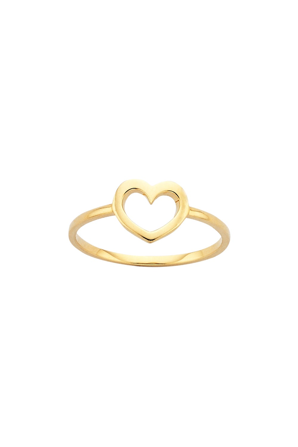 Mini Heart Ring Gold