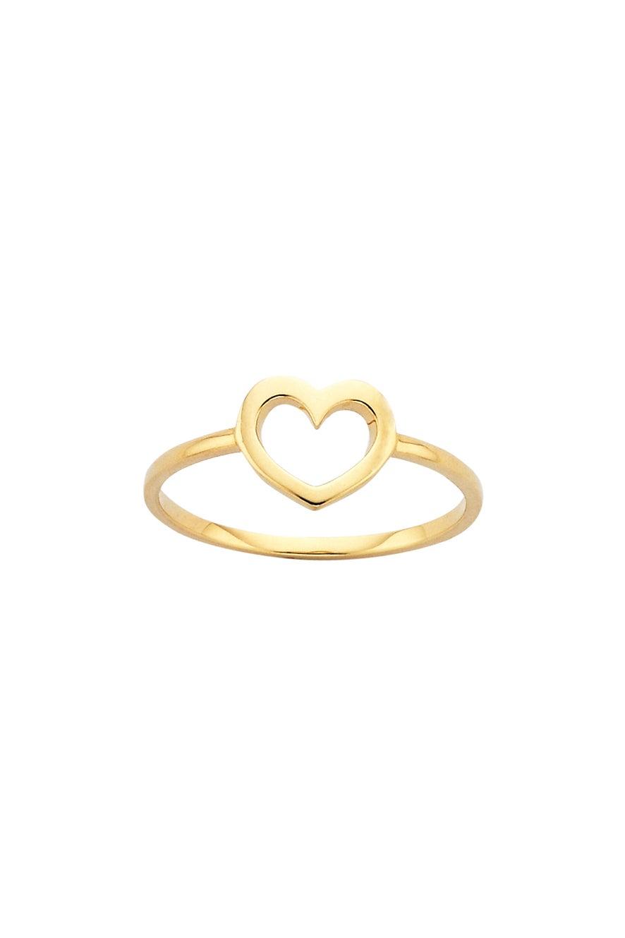 Mini Heart Ring Gold