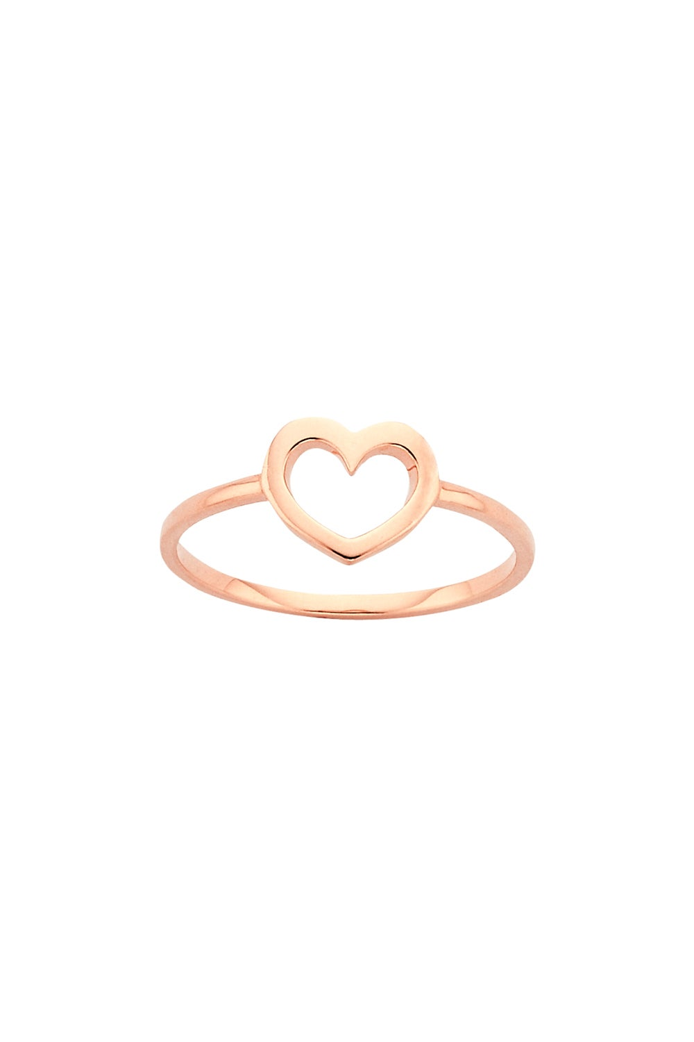 Mini Heart Ring Rose Gold